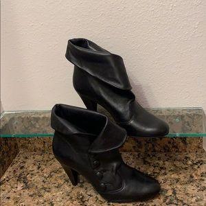 Gainni Bini black side button up boots
